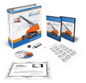 aerial lift certification training bundle pack