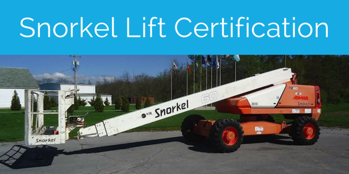 snorkel lift certification