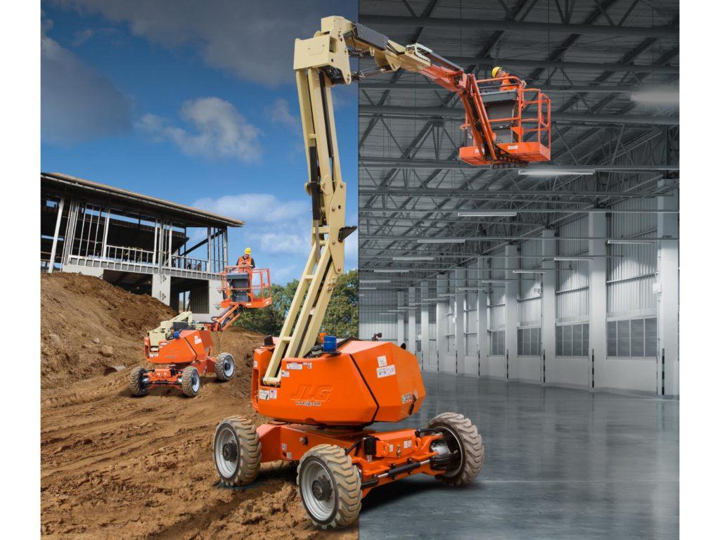 JLG electric boom lift